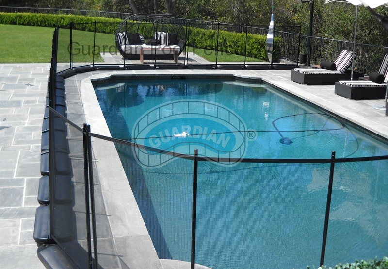 Portable Pool Fencing Our No Holes Pool Fence