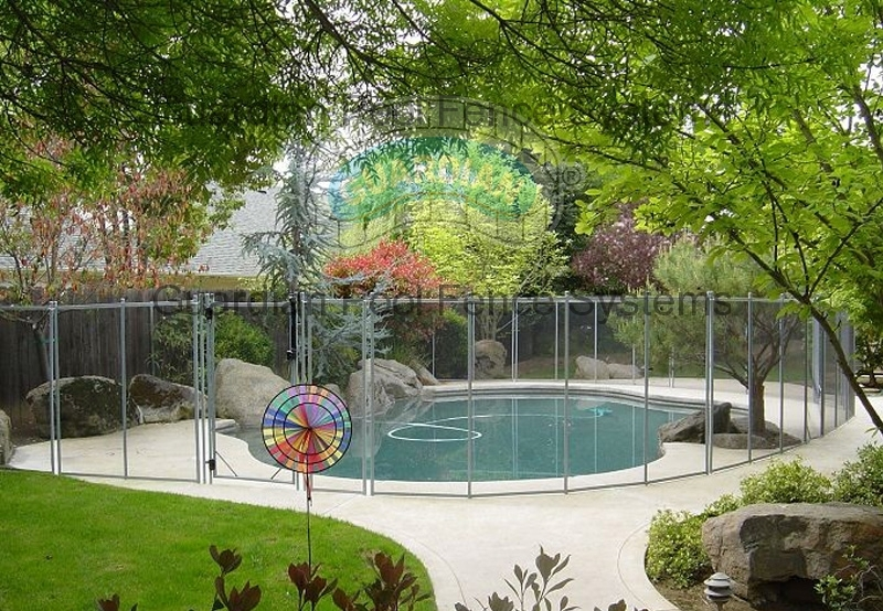 Safest Strongest Pool Fence Removable Pool Fencing
