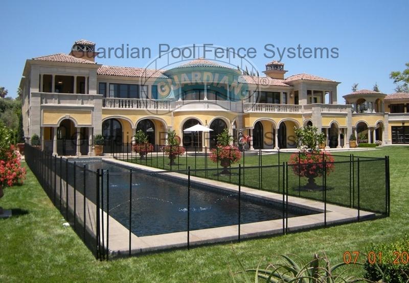Safest Strongest Pool Fence Removable Pool Fencing