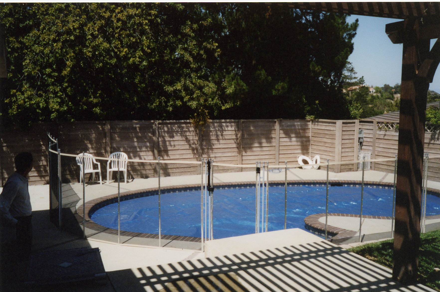 The Best Pool Fence Voted 1 Removable Mesh Pool Fence