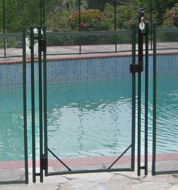 self closing pool gate