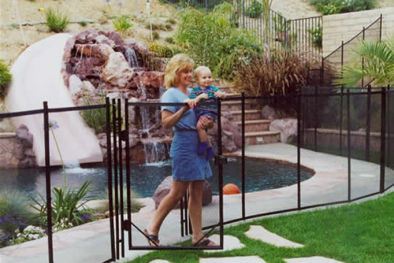 art of pool fence
