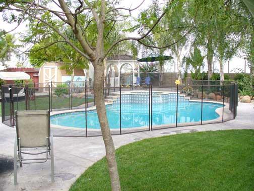 Pool Fence In San Bernadino California