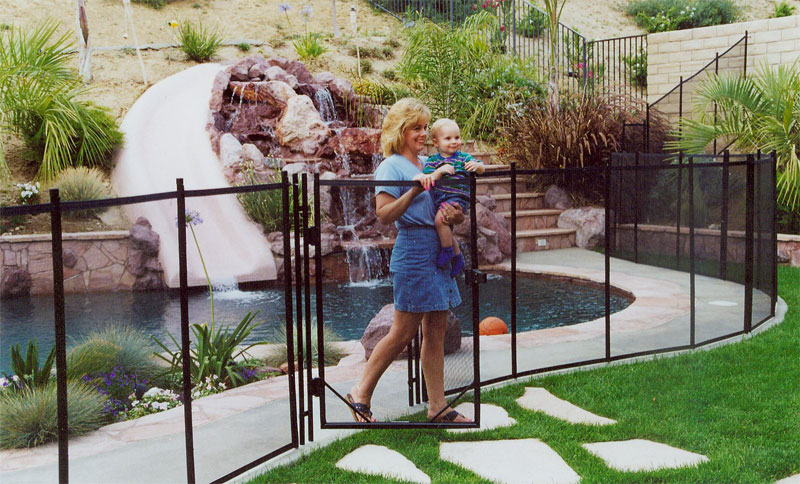 original pool fence