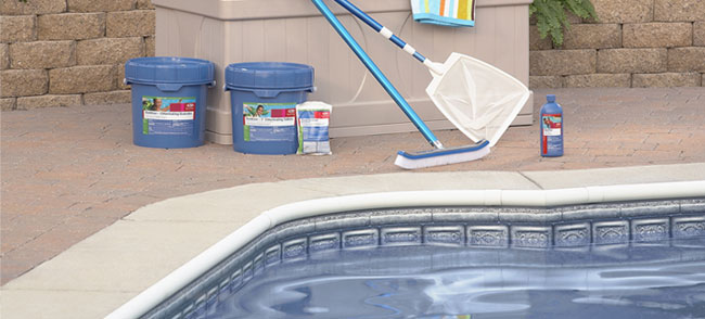 How much chlorine you need to put in a swimming pool - Swimming pool maintenance for dummies ...