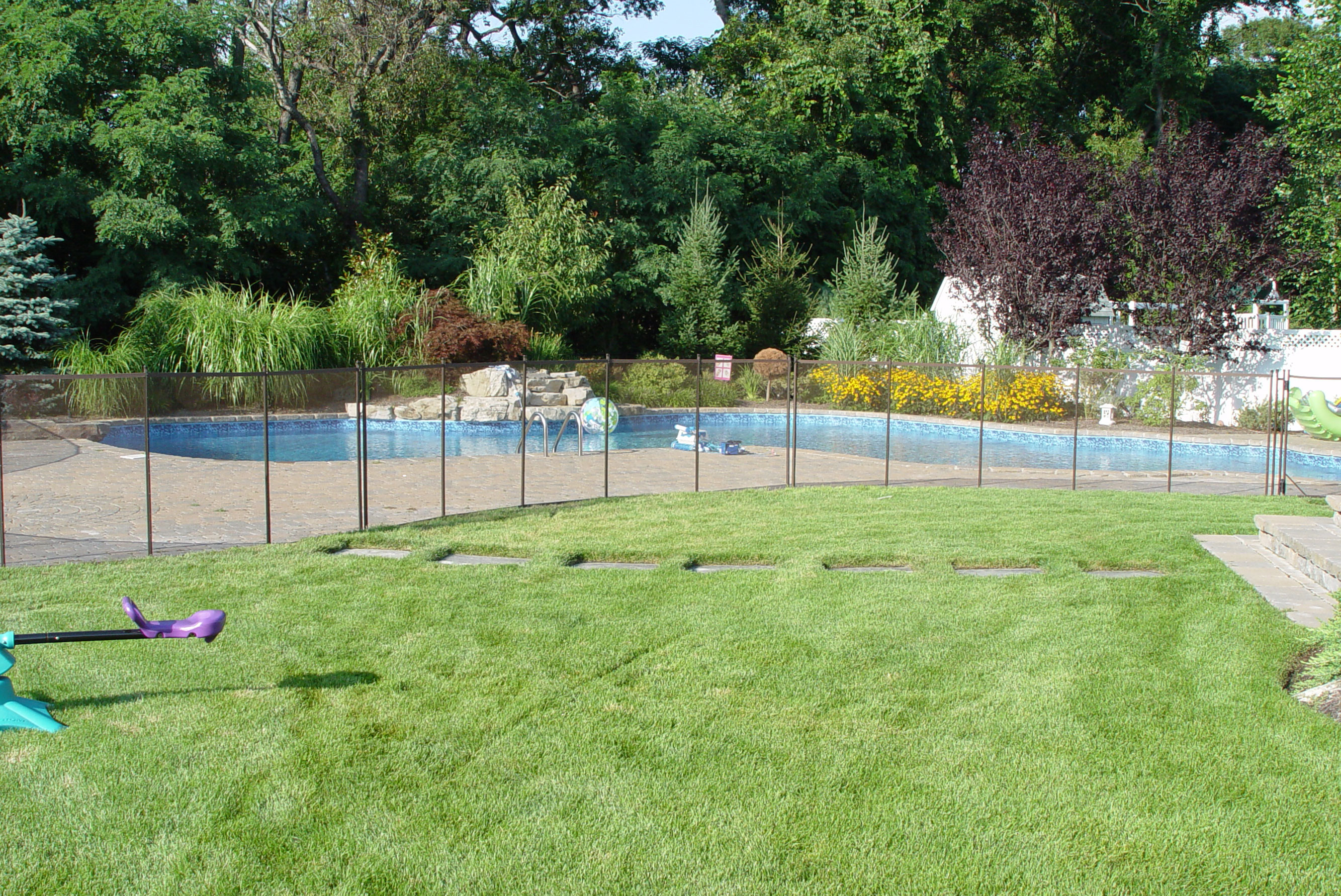 Sacramento pool fencing - Swimming pool fencing options consider ...