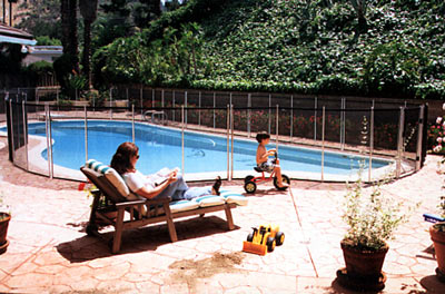 Child Proof Pool Fencing Guardian Pool Fence Systems