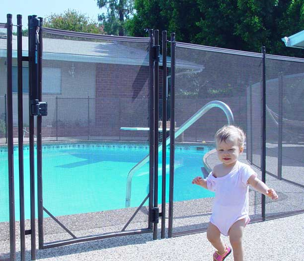 baby fence for pool
