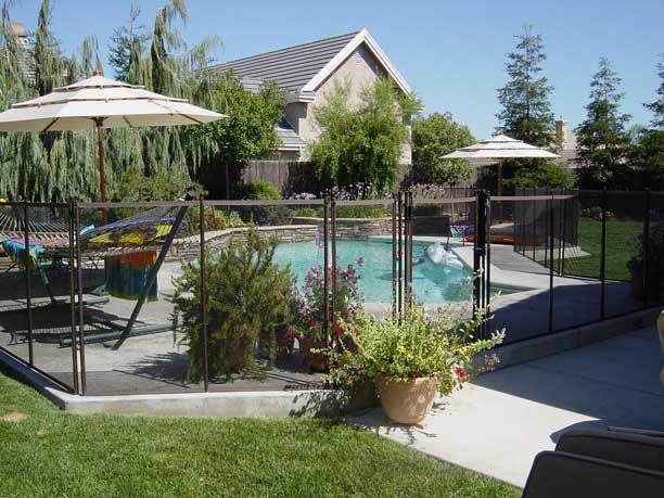 Retractable Fencing For Pools
