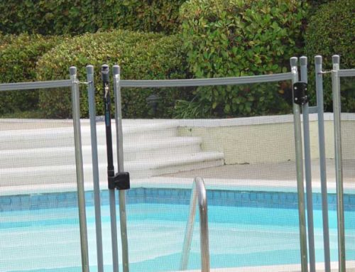 Pool Gate For Safety And Privacy