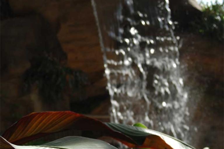 indoor-waterfall