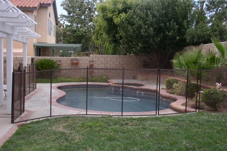 Mesh Pool Fence Vs. Rod Iron