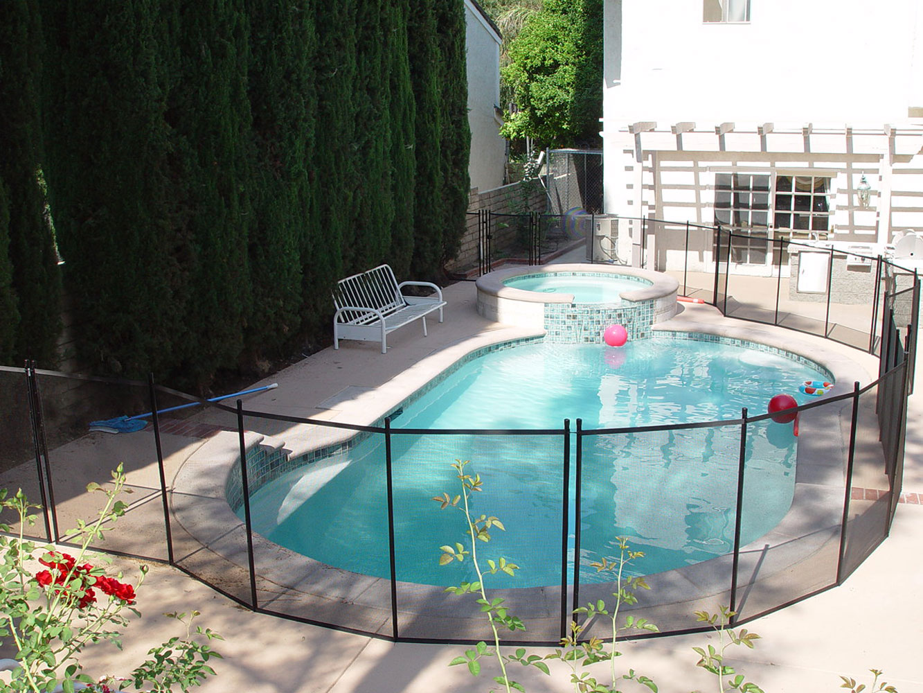 Secure Your Pool At Night