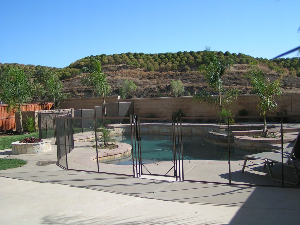 west covina pool fence