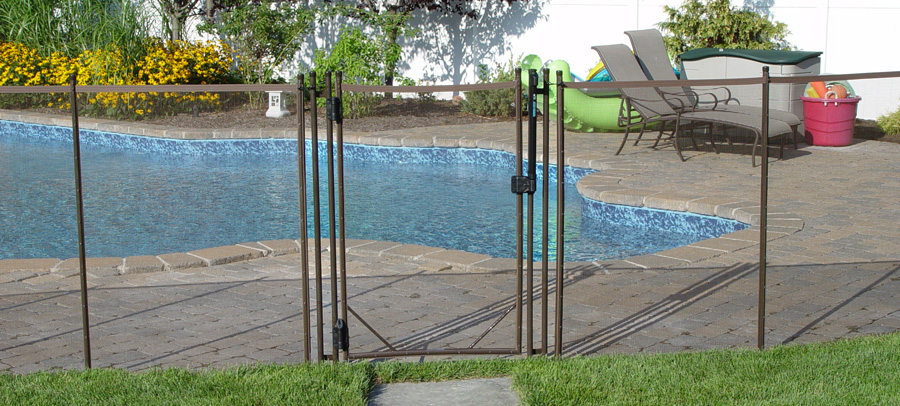 pool fence gate