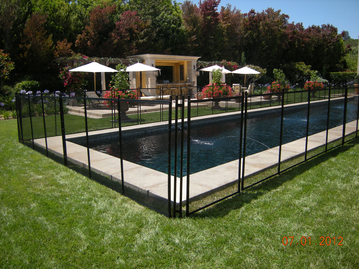 The Safest Pool Fence In Northern California Guardian Pool Fence