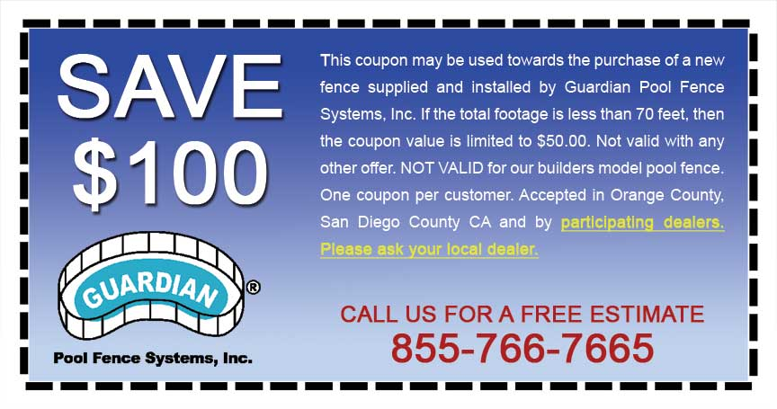 Pool Fence Coupons Get Up To 100 Off With Installation
