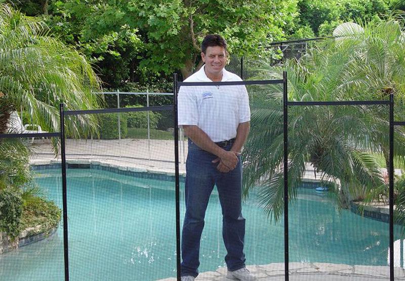 4 pool fence