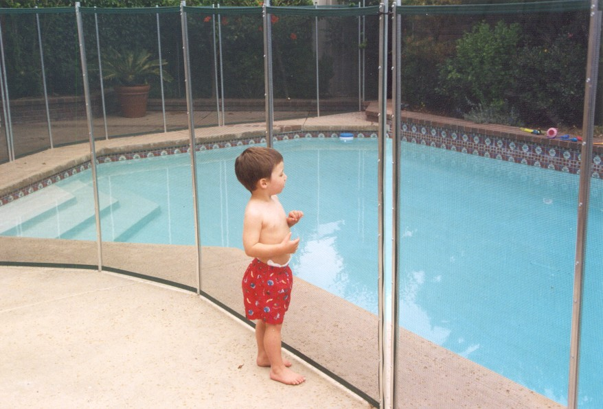 keeping children safe in the backyard