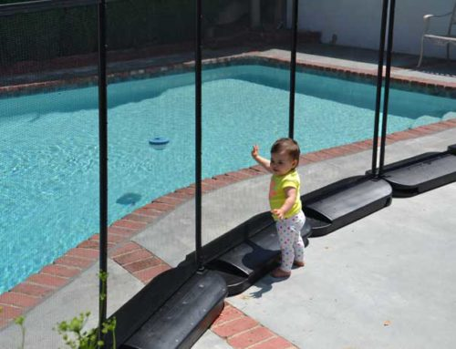 Portable Pool Fencing – Our No-Holes Pool Fence