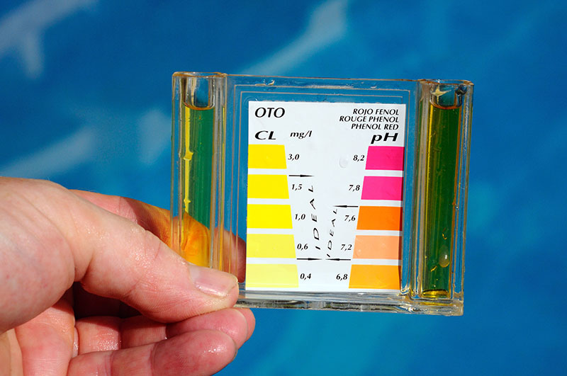 ph level of your swimming pool