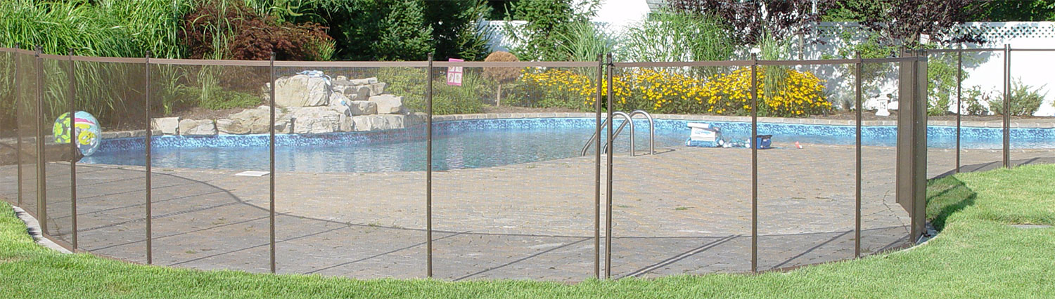 pool security fence