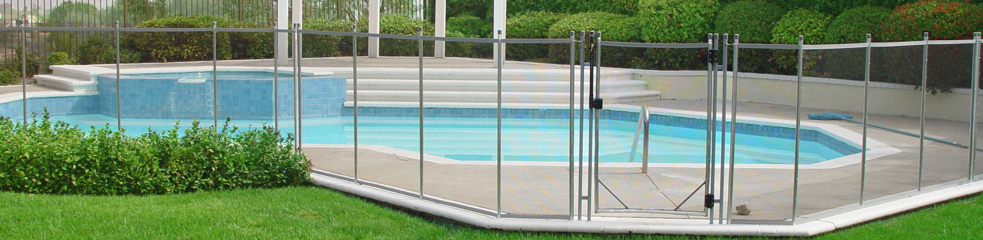 Pool Fence the safest and strongest pool fence. #1 swimming pool safety